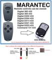Пульт marantec Digital D302  D304 433 универсальный пульт дистанционного управления Дубликатор 433 92 МГц фиксированный код