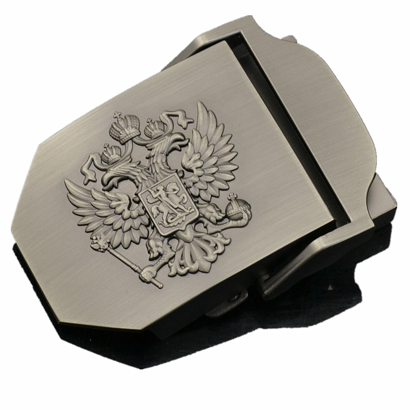 Canvas Belt Buckle For Men Russia National Emblem Logo Suitable Military Tactical Body Width 3.8cm Waist Tape Buckle Accessories
