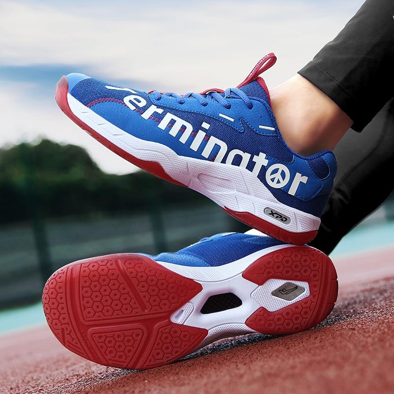 Новинка, футболки для мужчин, женщин и детей Дышащие волейбол обувь качество волейбол кроссовки для мужчин большие размеры 36–46 Нескользящие теннисные туфли