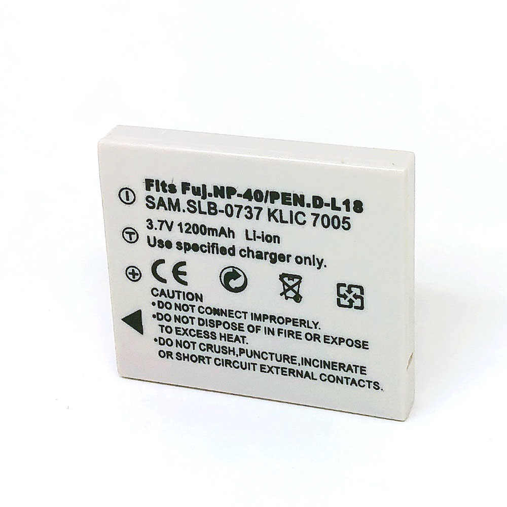 NP-40 FNP-40 NP40 NP-40N DLI-102 KLIC-7005 D-LI8 DLI8 D-Li85 DLi85 SLB-0737 аккумулятор для Fujifilm BENQ KODAK PENTAX RICOH SAMSUNG