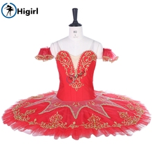 adult professional tutu red women classical ballet costumes navy blue Ballet Tutu stage costumesBT9067A