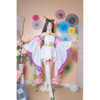 Hot Game King of Glory LOL Character Diao Chan Cosplay Costume Mage Magician Fancy Dress Anime Cosplay Costume