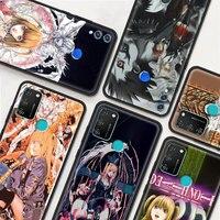 Rem Und Misa Death Note Anime Telefon Fall Für Honor 9X Pro 9A 8X 20 30i 9S 10 Lite 30 jugend 9C 20e 20S 50 8S 2020 Abdeckung Coque