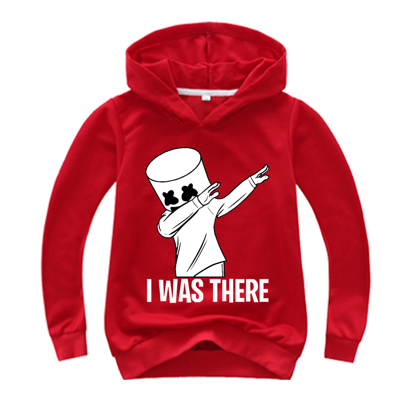 Black White Hoodies Human Child Print Cartoon Doll Hoodie Streetwear Hoodie Sweatshirt Boys And Girls Children's Clothes 4