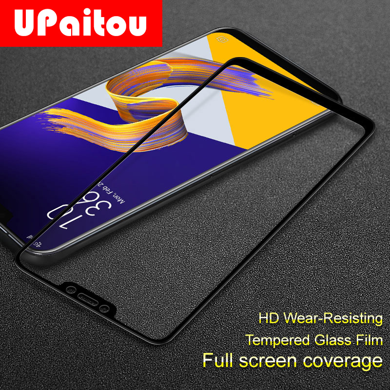 UPaitou Covering <font><b>Tempered</b></font> <font><b>Glass</b></font> for <font><b>ASUS</b></font> <font><b>Zenfone</b></font> <font><b>5</b></font> 5Z ZS620KL <font><b>ZE620KL</b></font> Full Cover Screen Protector <font><b>Glass</b></font> Film for ZS620KL <font><b>ZE620KL</b></font> image