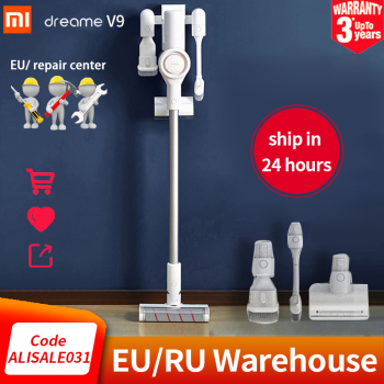 Oryginalny Xiaomi Dreame V9 odkurzacz ręczny przenośny bezprzewodowy cyklon ssania Cordless Cleaner dywan do domu odpylacz tanie i dobre opinie NoEnName_Null 400w 25 V Sweep Suction 0 5 L Cyclone Dust Bucket Dust Box 1 godzin Bezworkowy Vertical Hand Held 600*220*230