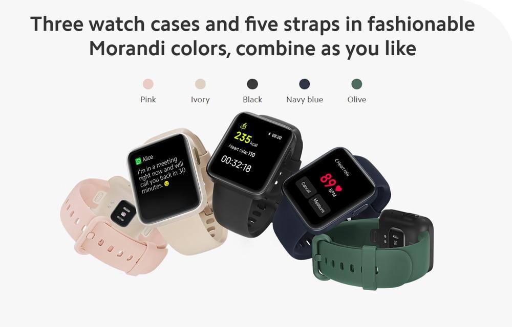 CHOLLO: Reloj Xiaomi Mi Watch Lite por menos de 50 euros