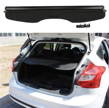 High Qualit Rear Trunk Security Screen Privacy Shield Cargo Cover For Ford Focus hatchback 2012 2013 2014 2015 2016 2017 2018