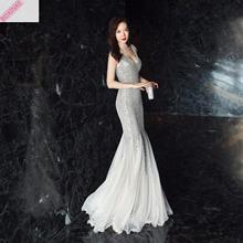 2019 Vestido Cảm Size