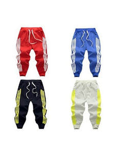 Sport-Pants Trousers Jogging Stripe Baby-Boys-Girls Kids Children Warm Casual