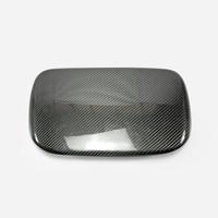 For Impreza 14 18 WRX STI VAB VAF OEM Carbon Fiber MDF Cover RHD Glossy Fibre Interior Dial Dash Mount Trim Car Accessories