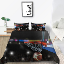 Basketball Bedding Set 3D Lifelike Comforable Fash