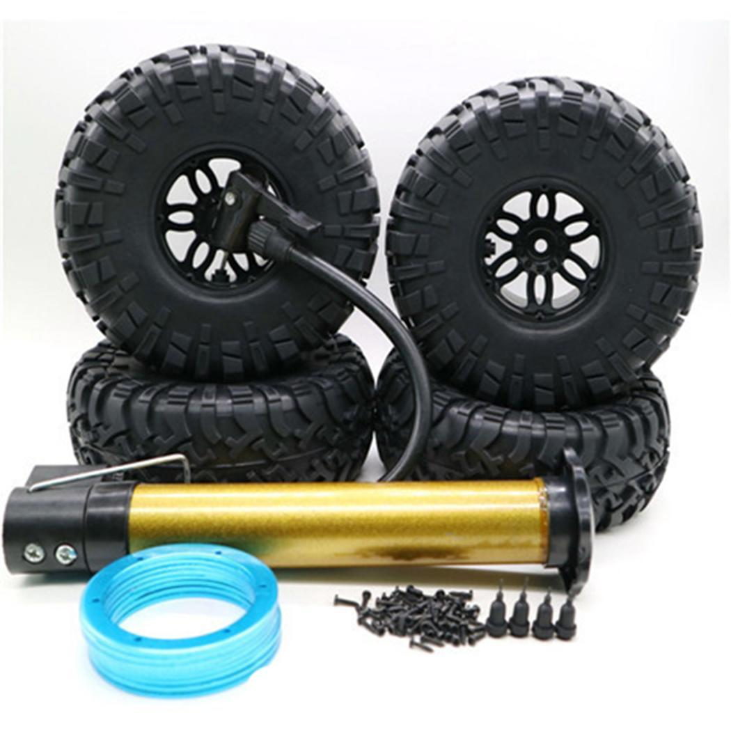 1/10 Climbing Car SUV <font><b>Tire</b></font> Modification 12mm Accessories Pack of <font><b>Tires</b></font> 236g Inflatable Car <font><b>Tire</b></font> <font><b>2.2</b></font> <font><b>Tires</b></font> inch image