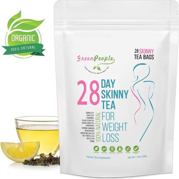 28-Day Pure Natural Slimming Products Diet Detox Tea Bags Appetite Suppressant for Weight Loss Body Cleanse for Women and Men 1