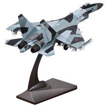 1/72 בקנה מידה רוסיה Su 35 Flanker E/סופר לוחם Diecast מתכת דגם מטוס צעצוע עבור אוסף קופסא המקורית חינם
