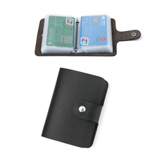 2019 Fashion PU Leather Function 26 Bits Card Case Business Card Holder Men Women Credit Card Holder Bag ID Passport Card Wallet high quality pu leather passport cover fashion alligator embossing travel passport case men women id credit card holder wallet