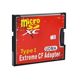 Image 5 - CHIPAL High Quality New Micro SD TF to CF Adapter For MicroSD SDHC SDXC to Compact Flash Type I Memory Card With Retail Package