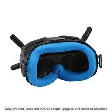 ملحقات طائرة بدون طيار غطاء العين وسادة تنفس مريحة لينة دائم استبدال أداة عملية ل DJI FPV نظارات V2