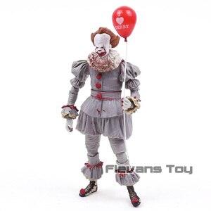 Image 5 - NECA Stephen King to Clown Pennywise Horror figurka Model kolekcjonerski