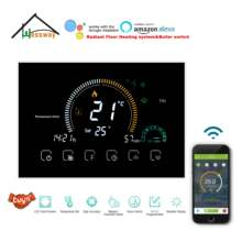 HESSWAY WIFI TUYA Hvac System Heizung Thermostat Schalter für Wärme Matte/Fußbodenheizung/Thermostat Ventile/Gas Kessel