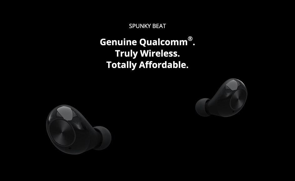 Tronsmart Spunky Beat TWS Bluetooth 5.0 Earphone APTX Wireless Earbuds with QualcommChip CVC 8.0 Touch Control Voice Assistant (1)