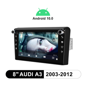 "Image 5 - 8 ""GPS Multimedia player Android 10 Auto Radio Stereo Rückansicht Kamera DVR Für Audi A3 2003 2012 S3 2006 2012 RS3 Sportback 2011"