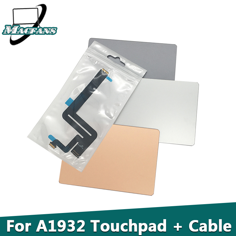 "Tested Original <font><b>A1932</b></font> <font><b>Trackpad</b></font> for Macbook Air 13"" <font><b>A1932</b></font> Touchpad With Flex Cable 821-01833-02 Gray/Silver/Gold Replacement 2018 image"