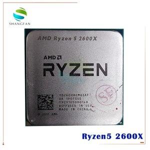 Image 1 - AMD procesador de CPU AMD Ryzen 5 2600X R5 2600X 3,6 GHz, seis núcleos, 12 hilos, 95W, YD260XBCM6IAF Socket AM4