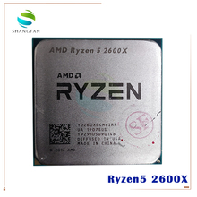 Processador amd ryzen 5 2600x r5 2600x, processador com 6 e 12 núcleos, 3.6 ghz, 95w de soquete am4