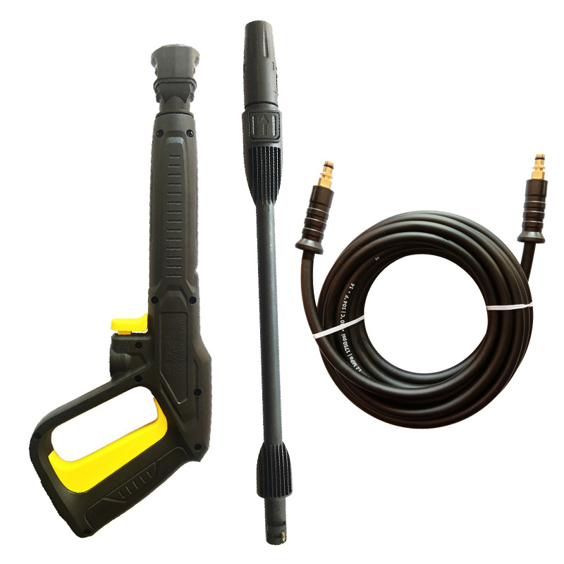 For Karcher K2k3k4k5k6k7 High Pressure Power Washer Spray Nozzle Adjust Water Lance/ 5/10M  Jet Hose,47CM Gun Rotating Turb