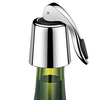Gorąca stal do wina ze stali nierdzewnej korek do butelki butelka do picia korek wielokrotnego użytku korek do wina pokrywa butelki do wina korek butelka oleju nalewak do wina tanie i dobre opinie CN (pochodzenie) stainless steel Ekologiczne Zaopatrzony Wina korki Stainless steel bottle stopper Eco-Friendly bottle stopper