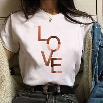 T Shirt Women Beautiful Geometry Printed 90s Graphic T-shirt Harajuku Tops Tee Cute Short Sleeve Animal Tshirt Female Tshirts 1