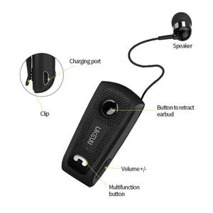 Image 4 - FINEBLUENew UK E20 Portable Business Wireless Bluetooth Headset Telescopic Type Earphone with Mic Headset call vibration
