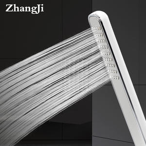 Shower-Head Bath Rain Water-Saving Zhangji High-Pressure ABS Long-Stripes Quality One/Two-Function