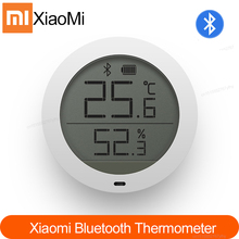 New Original Xiaomi Mijia Bluetooth Temperature Humidity Digital Thermometer Moisture Meter Sensor LCD Screen Smart Mi Home APP