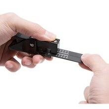 Cortador FTTH de fibra óptica de cuchilla, preciso, envío gratis