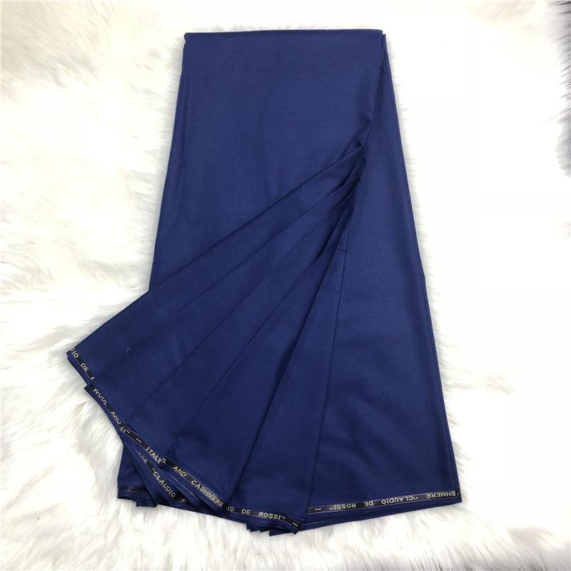 Nigérian mode costume cachemire laine coton tissu hommes coton polonais tissu hommes tissu matériel pour hommes africains 10 yards/lot