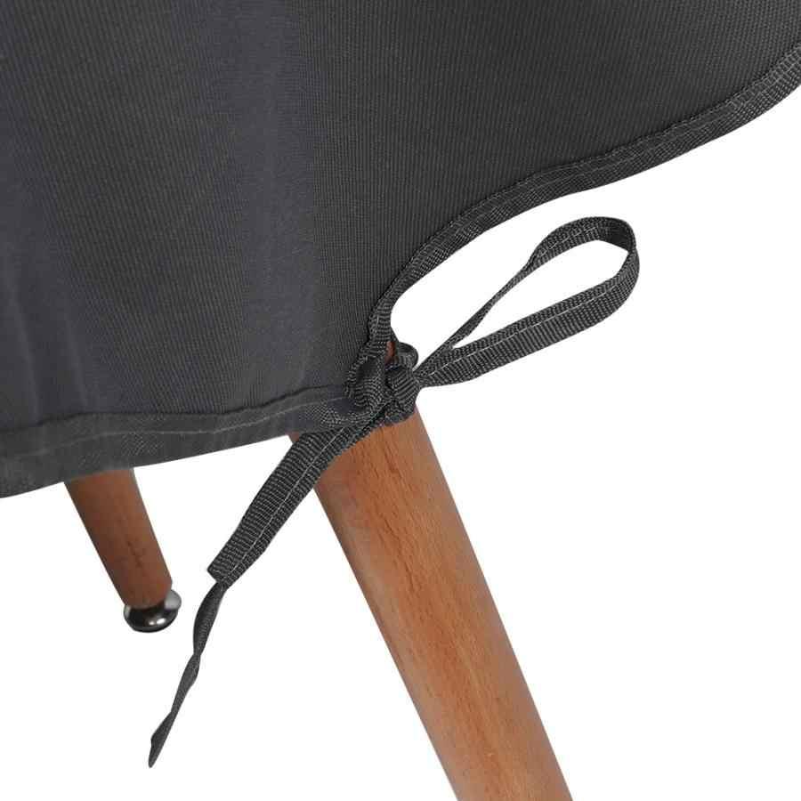 Скатерть Водонепроницаемая садовая фурнитура стола, уличная непромокаемая Пылезащитная круглая скатерть с узором