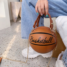 Small Personality basketball Hand Bag Fashion Women Chains H