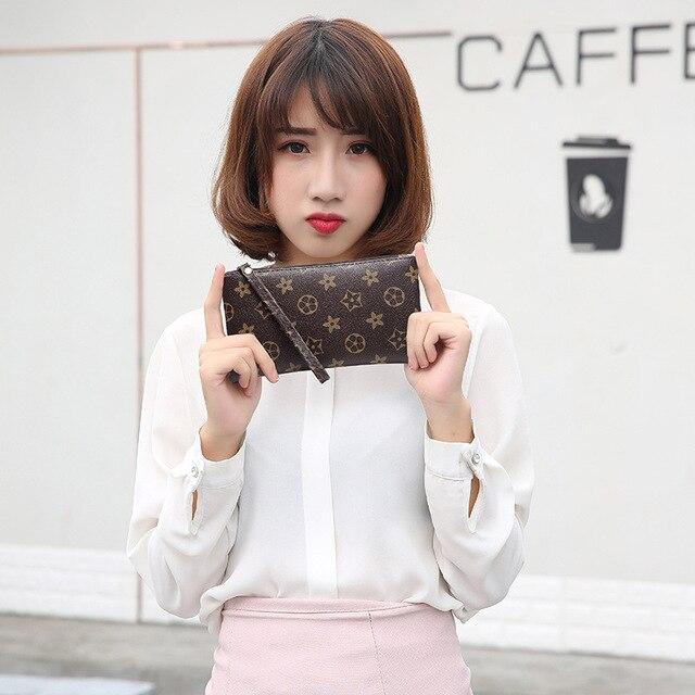 Leather Small Wallet Women Luxury Brand Famous Mini Women Wallets Purses Female Short Coin Zipper Purse Credit Card Holder 1