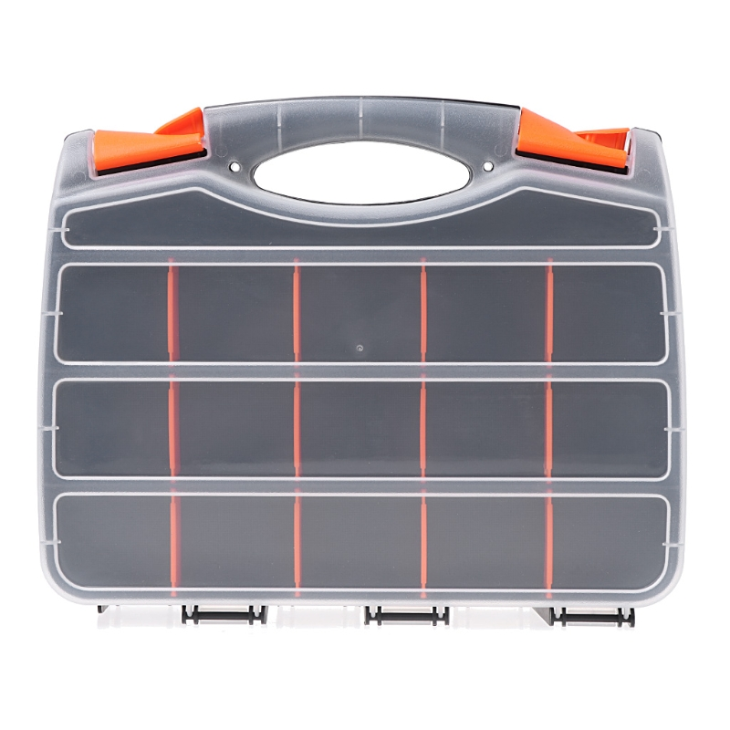 Portable Carry Tools Storage Case Spanner Screw Parts Hardware Organizer Box