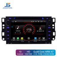 JDASTON Android 10 samochodowy odtwarzacz dvd dla chevroleta Epica Captiva Lova Aveo Spark Optra Holden GPS 2Din Radio multimedialne stereo IPS