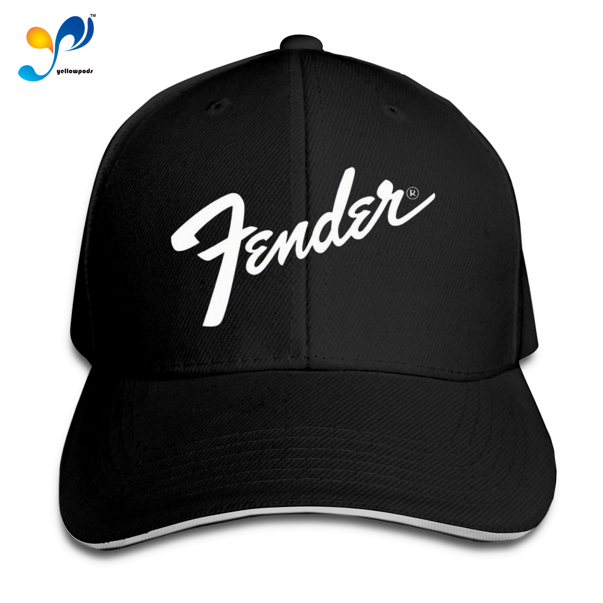 Baseball Cap Fender Casquette Men Women Snapback Hat Hip-hop Adjustable Outdoor Climbing Baseball Cap