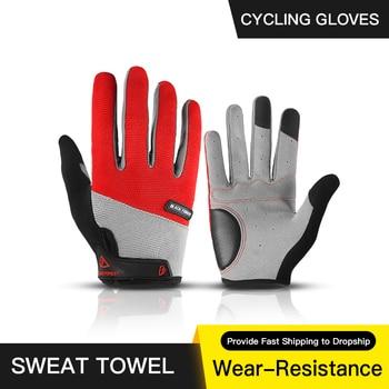 Guantes de Ciclismo de dedo completo para hombre, para Ciclismo de montaña...