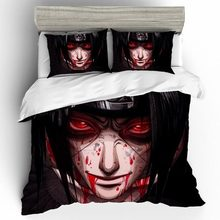 Naruto Home Textiles Bed Linen Cartoon Anime Bedding Set Duvet Covers Pillowcases Comforter High Quality Bedding Sets Bedclothes solid color fashion stripe bedding set duvet cover pillowcases comforter bedding sets bedclothes bed linen