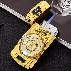 Flash Watch Metal Gas Lighter