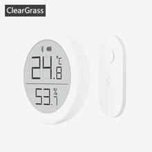 Youpin Qingping ميزان حرارة رقمي ومقياس رطوبة بلوتوث ، شاشة حبر إلكترونية ، تسجيل تلقائي لبيانات 30 يومًا من التطبيق المنزلي