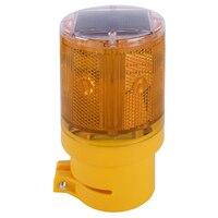 태양 강화한 비상 사태 led 스트로브 경고 빛 무선 정원 램프 도로 번쩍이는 신호등 깜박임 신호 램프 새로운 뜨거운