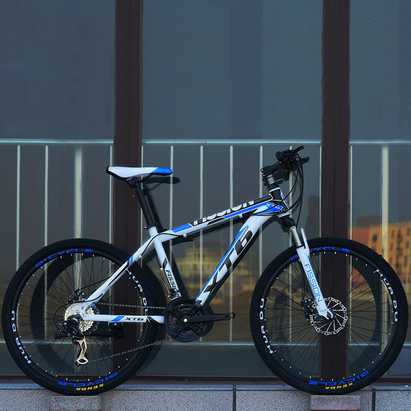 24 Inch Mountain Bicycle 21 Speed Adult Variable Speed Bicycle Student Flagship Off-Road Double Disc Brake Bike