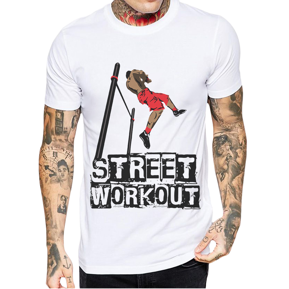 Mens T Shirts Fashion Short Sleeve White Men T-Shirt Hipster Casual Tops Artistic Design Print Street Workout Tshirt Cotton Tee